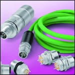 Binder M12 Eight-Pin Connectors with X-Coding for Industrial Applications