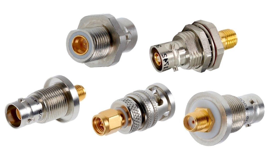 Cinch Connectivity Solutions expanded its Trompeter adapter family with new coax-to-triax adapters
