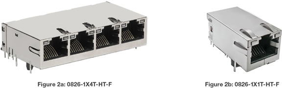Ethernet connectors from BelFuse