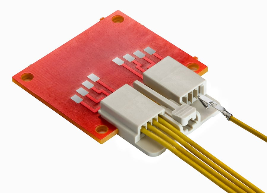 Molex's new 2mm-pitch EdgeLock Wire-to-Edge-Card Signal System