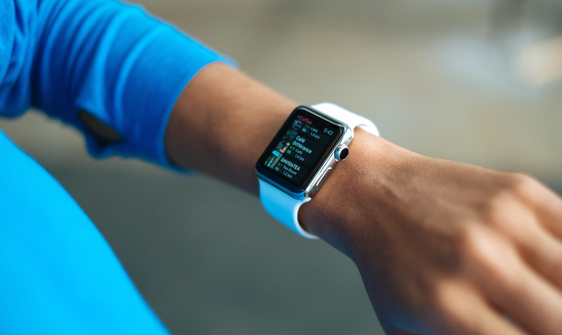 Sensors and antennas are critical components of wearable technologies, like the smart watch pictured here.
