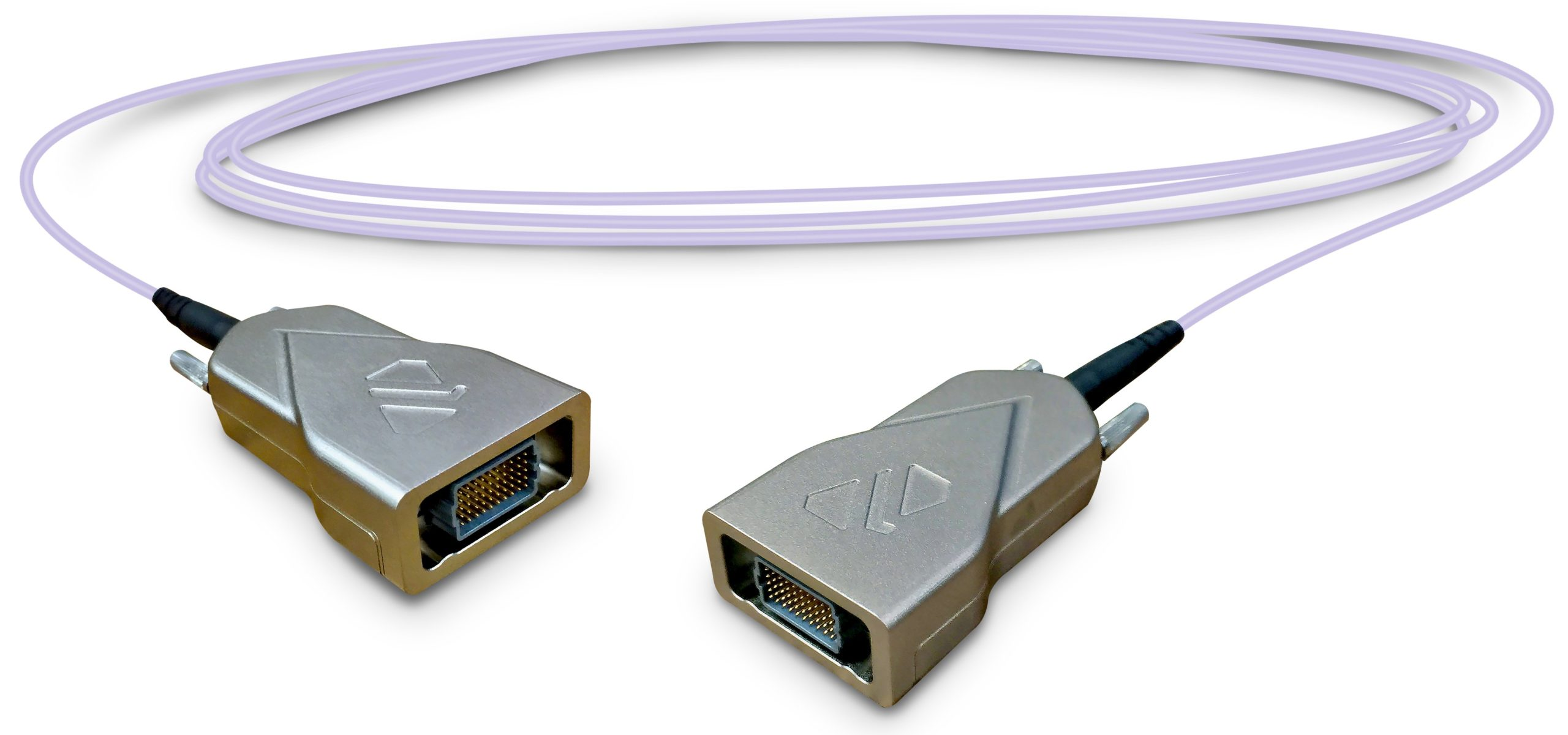 rugged active optical cable assembly