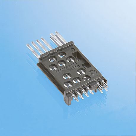 PCB mount automotive connectors from Axon Cable