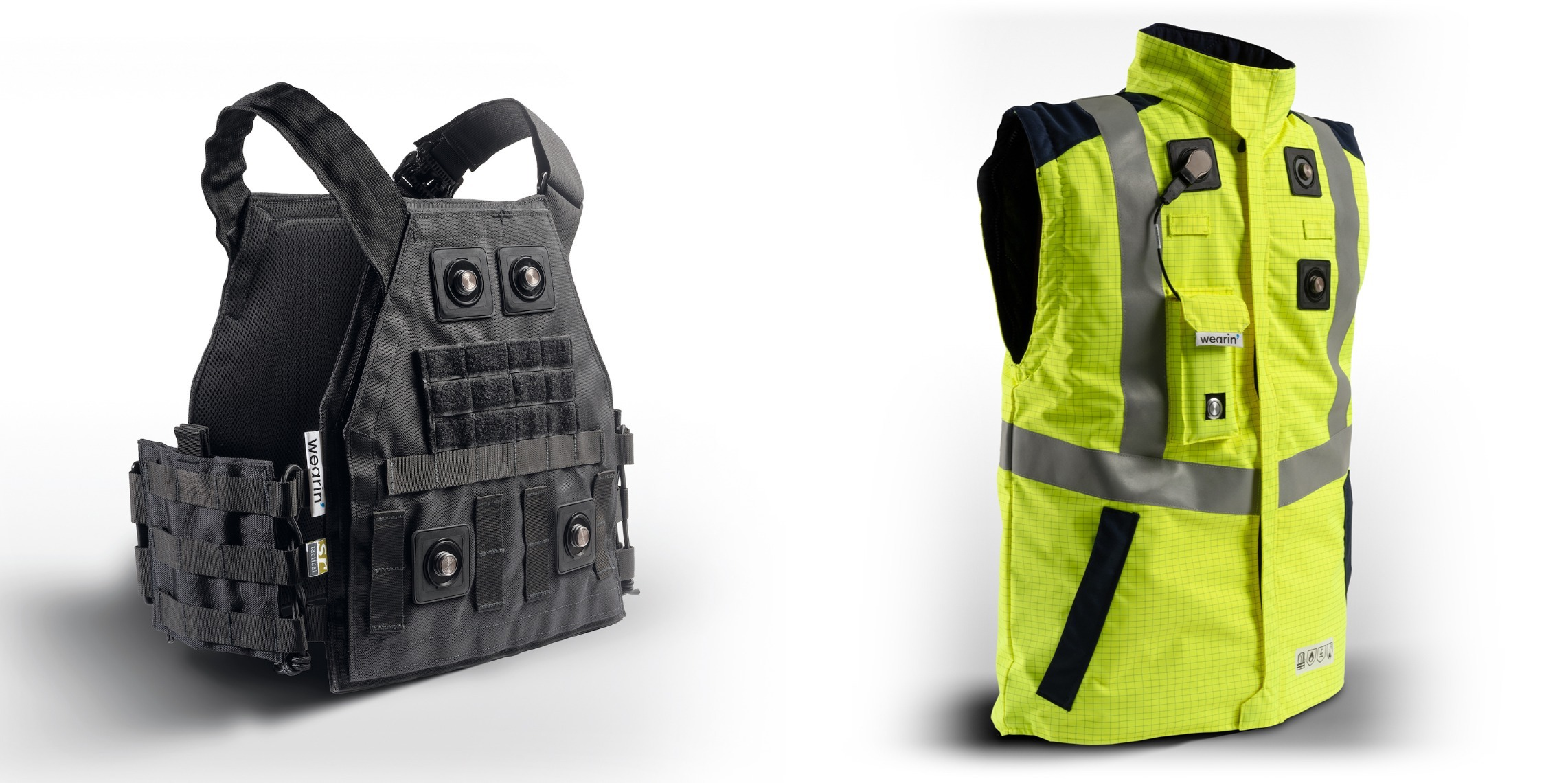 utility vests, technology trend = wearable connectivity