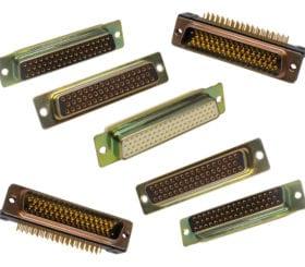 rectangular mil-spec connectors from ITT Cannon