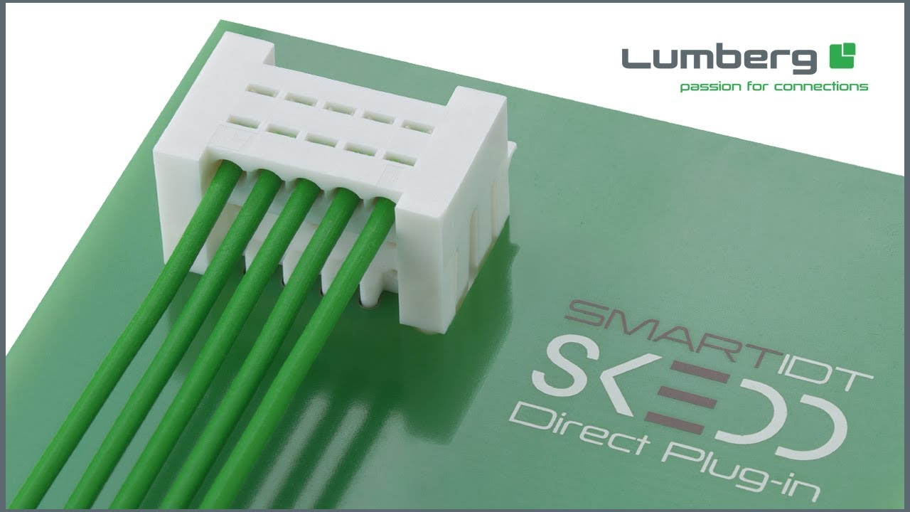 Lumberg's SKEDD automotive connector meets standards for automotive connectors